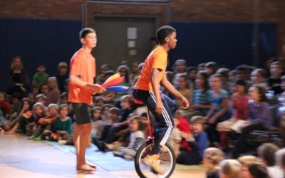 Boulder Valley Waldorf School Joins the Circus!