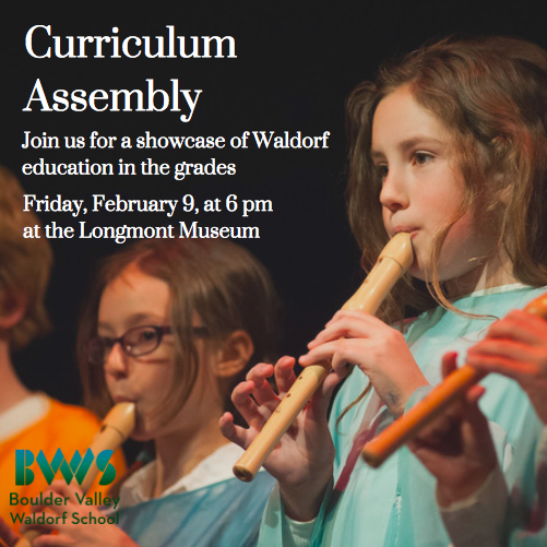 Curriculum Assembly – Feb 9