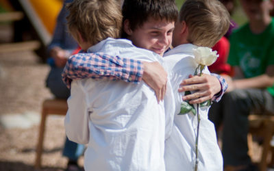 Last Day of School -White Rose Ceremony