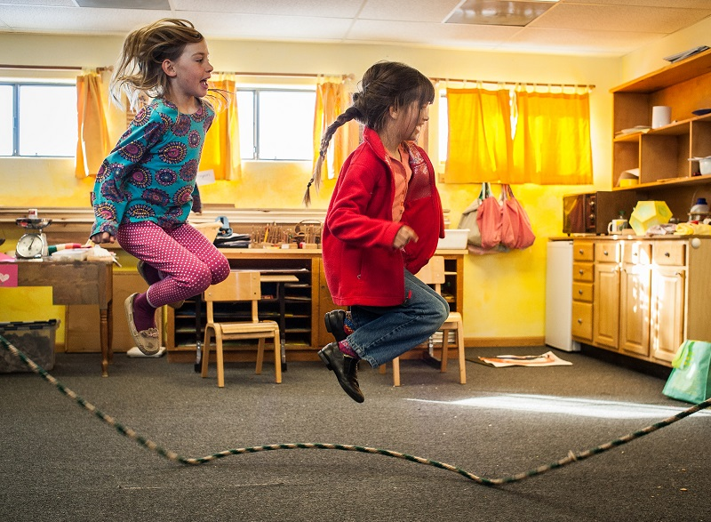 Jump Roping Times Tables: What Helps Children Learn and What Hurts?