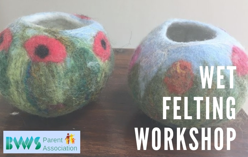 Wet Felting Workshop – Apr. 13